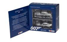 CORGI CC08099 ASTON MARTIN DB10 & DB5 2 car set James Bond 007 SPECTRE 2015 1:36