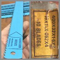 LAME BIMÉTAL SCIE ALTERNATIVE VANGUARD BIFLEX HSS 4 TPI 400 x 32 x 1,6mm