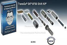 Transgo SK6F50 Transmission 6F50 Shift Kit, 6F50 2007-12 Ford Lincoln 124165BT