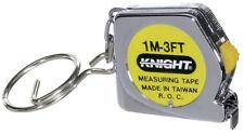 Tape Measure Key Chain Tool Metal Measuring Ruler Lock Toy auto accessory purse
