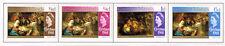 Cayman Islands Art Famous Paintings set Christmas 1968 MLH