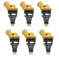 6x Genuine 550 555cc Fuel Injectors For Nissan Skyline R33 RB25DET ECR33
