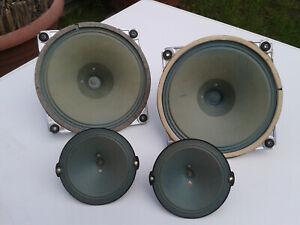 "Röhrenradio SABA ""Freudenstadt 7"" Greencone Speaker/Lautsprecher Set komplett"