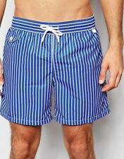 e335bab13bf6 Men s Polo Ralph Lauren Traveller Swim Shorts - UK Small - Blue White - BNWT