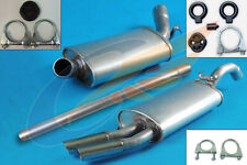 VW GOLF II 1.8 GTI Hatchback 85-87 Full exhaust from CAT + mounting kit