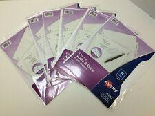 Avery Durable Write Amp Erase Plastic Dividers 5 Tab White 8 12 X 11 6box