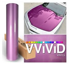 XPO Purple Carbon Gloss VViViD stretch Tech art vinyl car wrap fiber sizes roll