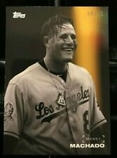 Manny Machado 2019 Topps On Demand Black & White Color Background #'d 6/25