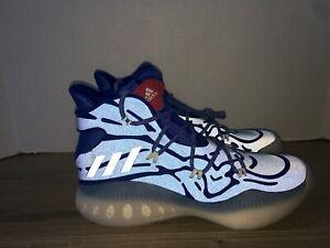 Adidas Crazy Explosive XENO Basketball Shoes B39460 Reflective 3M Blue RARE Sz11