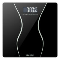 LCD Personal Scale Glass Digital Electronic Bathroom Body Weight Slim Scale