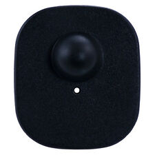 1,000 RF Checkpoint® System Compatible  Black Mini Tag with Pin, New