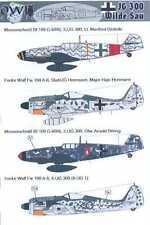 "Owl Decals 1/144 German JG-300 WILDE SAU ""Wild Boar Squadron"""