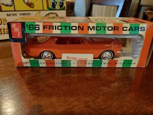 AMT 1966 Ford Mustang Promo Orange MIB