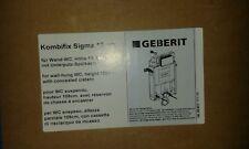 Geberit Kombifix Plus Montageelement 110300005 UP320 Spülkasten