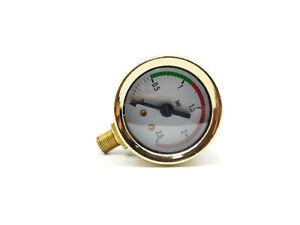 La Pavoni - Professional Gold Pressure Gauge Ø 41mm Replacement parts - 453042