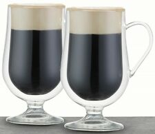 Le Xpress by Kitchen Craft Set of 2 Double Walled 275ml Irish Coffee Glasses 3 Sets - 6 Glsses