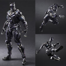 Play Arts Kai Black Panther Marvel Universe Variant Action Figure Model Kids Toy