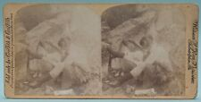 Risque STEREOVIEW 3D Stereoscopic Stereo Card RISQUE Hosiery Goes Up