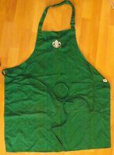 STARBUCKS Coffee Barista Green UK Apron