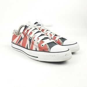 Converse Chuck Taylor All Star 51194C Red Low Top Sex Pistols Shoes Size 6