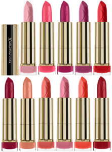 MAX FACTOR Colour Elixir Lipstick 4ml - CHOOSE SHADE - NEW