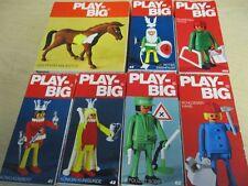 7 x PLAY-BIG PLAY BIG Figuren Sets OVP 70er Jahre