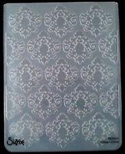 Sizzix grande carpeta de grabación en relieve Papel pintado barroco se ajusta Cuttlebug 4.5x5.75in