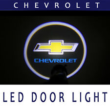 GSL Ghost Shadow Chevrolet logo LED Door Light 2p 1Set For Chevy Universal Fit