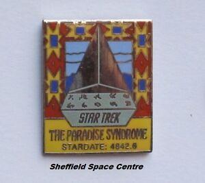 Star Trek The Paradise Syndrome Original Series Episode Pin Badge STPIN7958