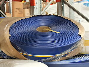 """Discharge Hose, Eco Flat Hose, 75mm X 100m Water Delivery Hose 3 """""""
