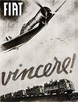 Mario Puppo-FIAT-VINCERE!-guerra-aereo-treno-Levanto-Spoleto-Fascio 1942