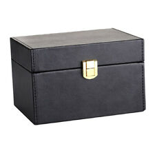 Durable Car Key Faraday Box Signal Block Cage Key Fob Privacy Protection Black