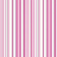 Papel Pintado Debona De Lujo Trend Código De Barras Diseño A Rayas Rosa Y Blanco