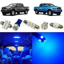 5x Blue LED lights interior package kit for 2005-2014 Toyota Tacoma TT3B