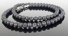 Black Lava Stone Necklace Gemstone Reiki