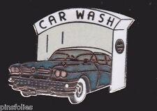 Pin's Folies ** Rare Enamel Badge Demons et Merveilles Car wash