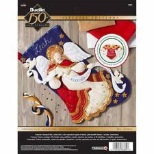 "Bucilla 18"" Felt Christmas Stocking Kit - Christmas Angel"