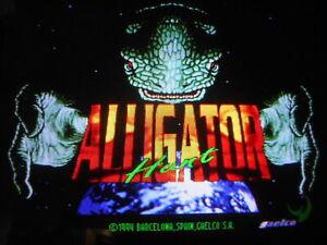ALLIGATOR HUNT  by GAELCO  JAMMA ARCADE PCB GAME