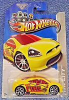 2013 Hot Wheels 18/250 HW City-Rescue Fire MITSUBISHI ECLIPSE CONCEPT CAR Yellow