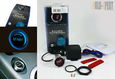 HONDA S2000 TYPE JDM BLUE LED 12V PUSH TO START ENGINE QUICK IGNITION BUTTON KIT