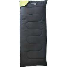 ESSENTIAL ENVELOPE SLEEPING BAG NIGHT OUTDOOR SLEEP ZIP GUARD CAMPING TRAVEL