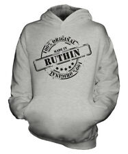 MADE IN RUTHIN UNISEX KIDS HOODIE BOYS GIRLS CHILDREN TODDLER GIFT CHRISTMAS