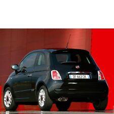 Fiat 500 2007-2015 hinten Stoßstange Stoßfänger in Wunschfarbe lackiert, NEU!