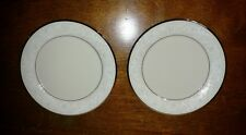 "Set/2 GORHAM Fine China 6-3/8"" Bread & Butter Plates Marked 7B Mint Dont Miss!!"