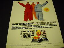 Beastie Boys 1999 Promo Poster Ad Sounds Of Science dolls not included Mint