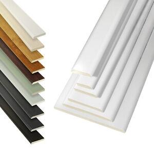 5m UPVC Plastic Trim Architrave D mould Cloaking Fillet Plastic Window Bead