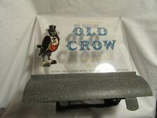 Vtg Rare Old Crow Bourbon Whiskey Cash Register Lighted Base Sign
