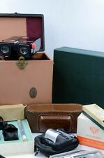 Huge lot of Stereo Camera Equipment Realist Camera, Viewer, Trays, Mounts, Glass