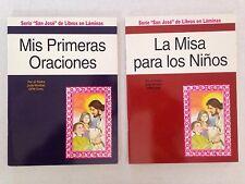 Mis Primeras Oraaciones - La Misa para los Ninos - Padre Jude Winkler 2 Book Lot