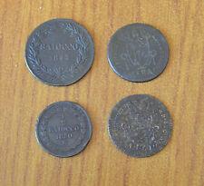 LOTTO 4 MONETA STATO PONTIFICIO 1 BAIOCCO 1844 MEZZO BAIOCCO 1850 PIO IX